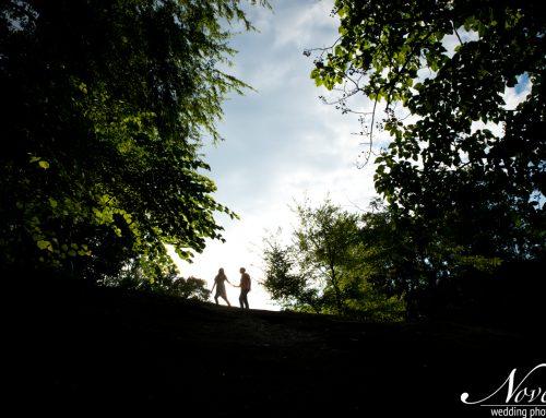 Falls Park Engagements | Shannon + Colin